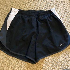 Nike Shorts - Black and White Nike Shorts